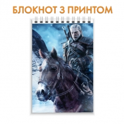 Блокнот The Witcher Hero Geralt of Rivia