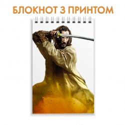 Блокнот 47 Ronin Keanu Reeves Hero