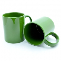 Green cup for monochrome printing