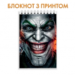 Блокнот Injustice Joker Face