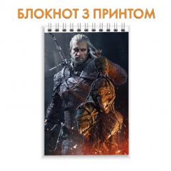 Блокнот The Witcher Geralt