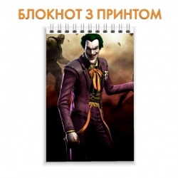 Блокнот Injustice Joker