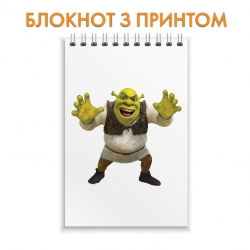 Блокнот Shrek Main Hero