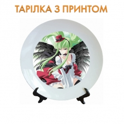 Тарелок Code Geass Grey Witch