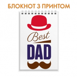 Notepad Father's Day best dad