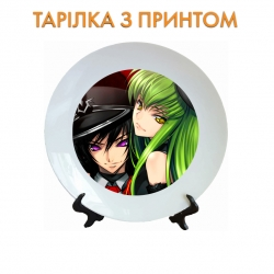 Тарелок Code Geass CC With Prince