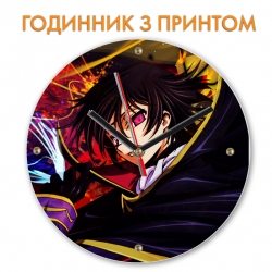 Часы Code Geass Black Prince Hero