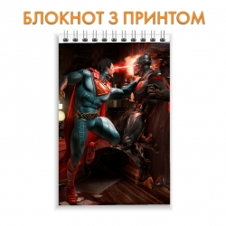 Блокнот Injustice Battle