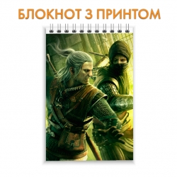 Блокнот The Witcher Heroes Print