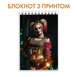 Блокнот Injustice Harley Quinn Hero