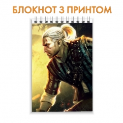 Блокнот The Witcher Geralt Print