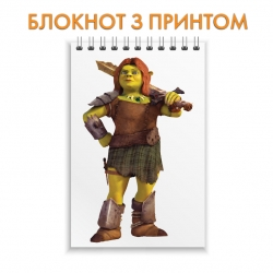 Блокнот Shrek Fiona With Sword