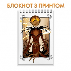 Блокнот The Nightmare Before Christmas Jack Skellington Art