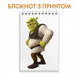 Блокнот Shrek Happy Hero