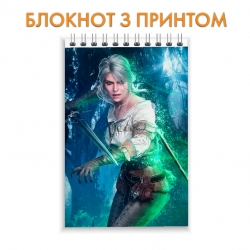Блокнот The Witcher Hero Ciri