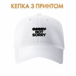 Кепка Sorry not sorry