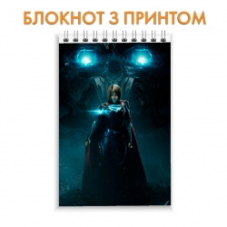 Блокнот Injustice Superhero Print