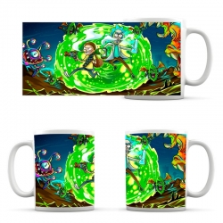 Rick and Morty Cup Green Portal