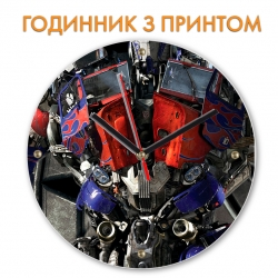 Часы Transformers Optimus Prime Robot