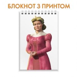Блокнот Shrek Fionas Mother Queen
