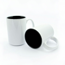 BIG cups with black inside