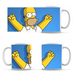 Simpsons Cup Homer Simpson Blue Cup