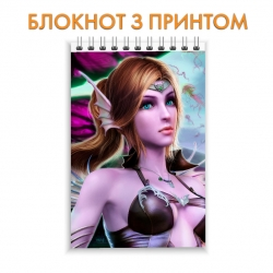 Блокнот Perfect World Hero Girl