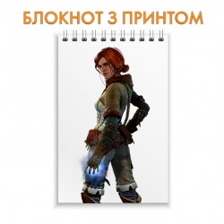 Блокнот The Witcher Triss Merigold Hero