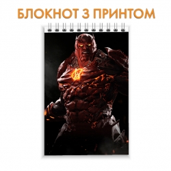 Блокнот Injustice Red Lantern Hero