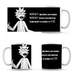 Rick and Morty Cup Going To DIE