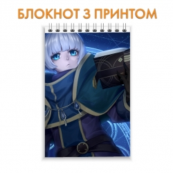 Блокнот Re Creators Girl Hero