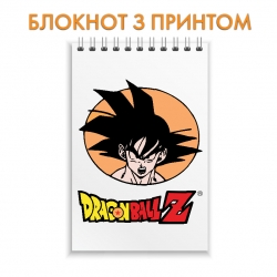 Блокнот Dragon ball Logo Gokuu