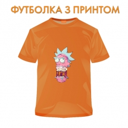 футболка Rick And Morty Monster Rick, оранжевая