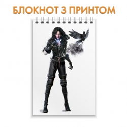 Блокнот The Witcher Yennefer of Vengerberg Hero