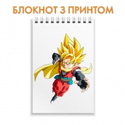 Блокнот Dragon ball Main Hero