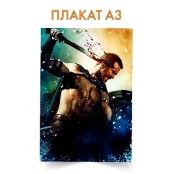Плакат 300 Spartans Spartan Hero Print