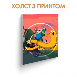 Холст Adventure Time Friends art.100289