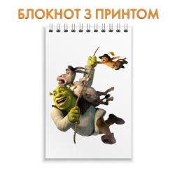 Блокнот Shrek Hero Friends