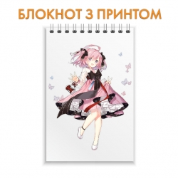 Блокнот Azur Lane Hero Print 0004