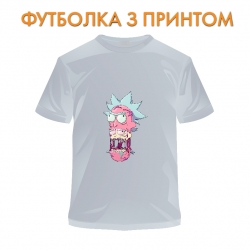 футболка Rick And Morty Monster Rick, серая
