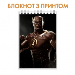 Блокнот Injustice Flash