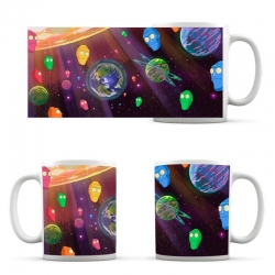 Rick and Morty Space Cup