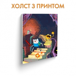 Холст Adventure Time Castle art.100291