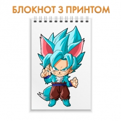 Блокнот Dragon ball Neko Hero