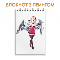 Блокнот Azur Lane Hero Print 0006