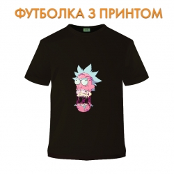 футболка Rick And Morty Monster Rick, черная