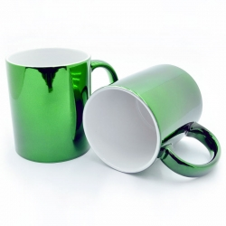 Green mirror cups