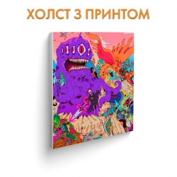 Холст Adventure Time Big Monsters art.100292