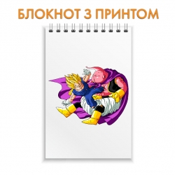 Блокнот Dragon ball Pink Monster