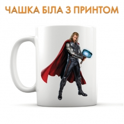 Чашка MARVEL Thor Hero Print